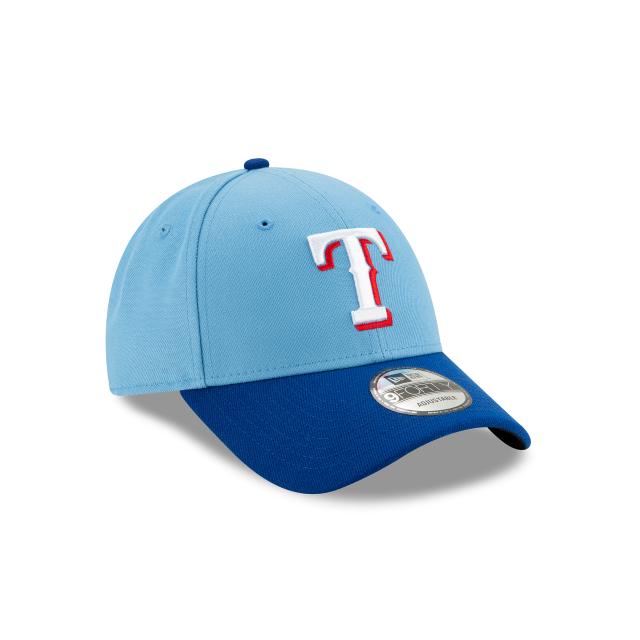 MLB Texas Rangers New Era The League 9FORTY Adjustable Cap Hat Headwear